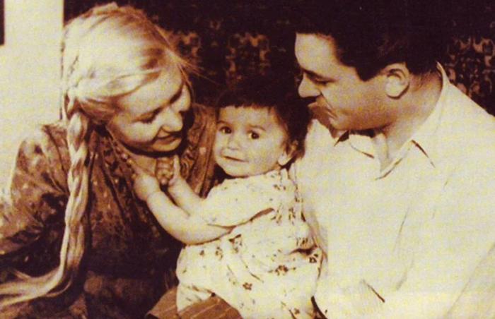 С Инной Макаровой и дочерью Наташей