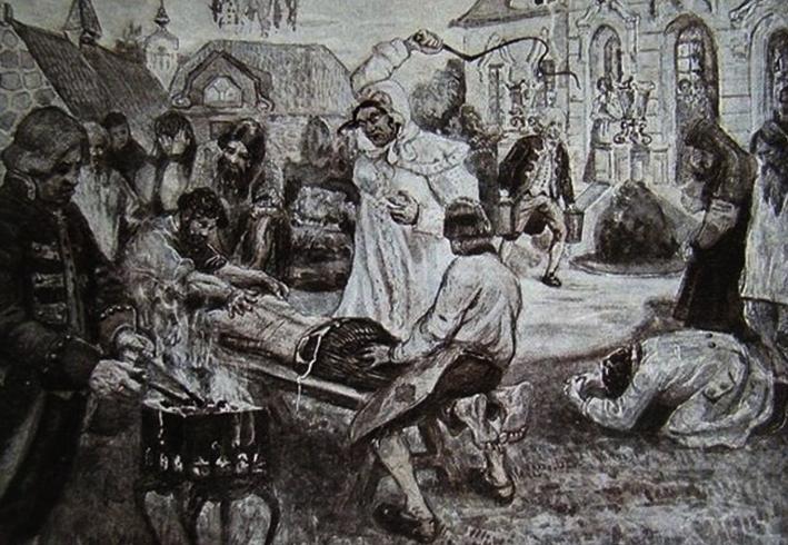 Истязания Салтычихи
