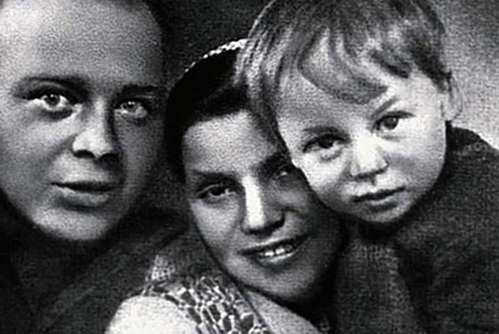 С Лией и сыном Тимуром