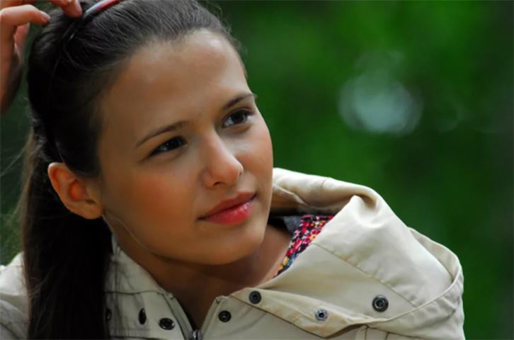Любовь Аксенова в молодости