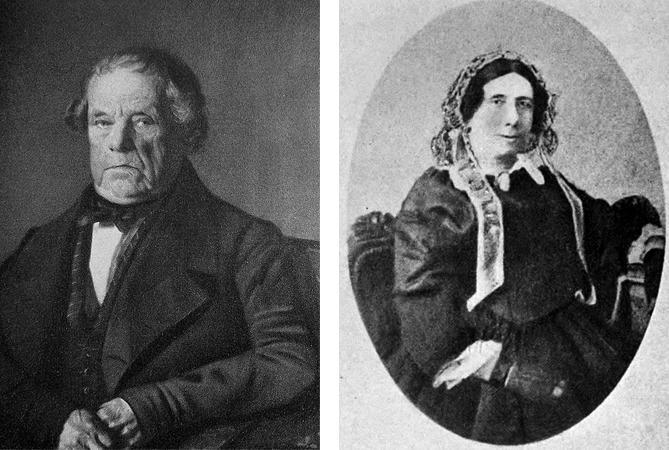 Родители – Адам Лист и Анна-Мария
