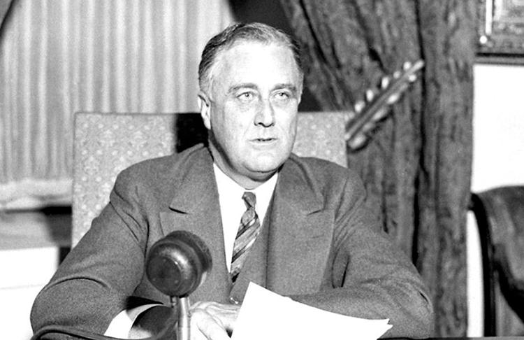 Президент Франклин Рузвельт