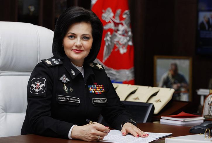 Татьяна Шевцова за работой