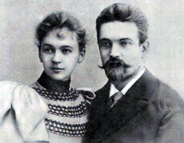Родители — Петр Федорович Орлов и Евгения Николаевна Сухотина