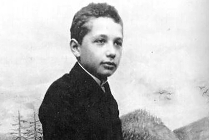 Альберт в юности