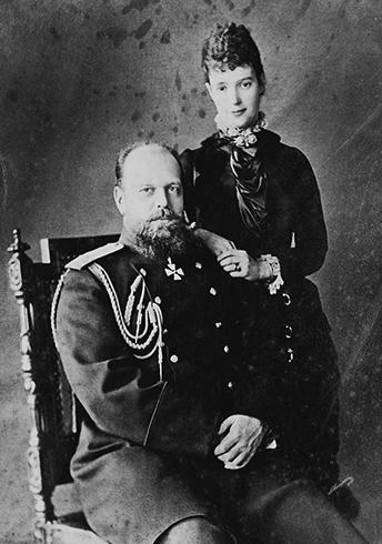 Родители — АлександрIII и Мария Федоровна