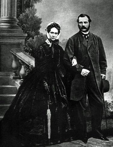 Александр II и Мария Александровна — родители Александра III