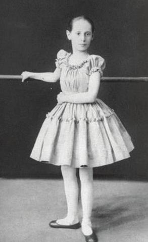 Анна в 1891 году