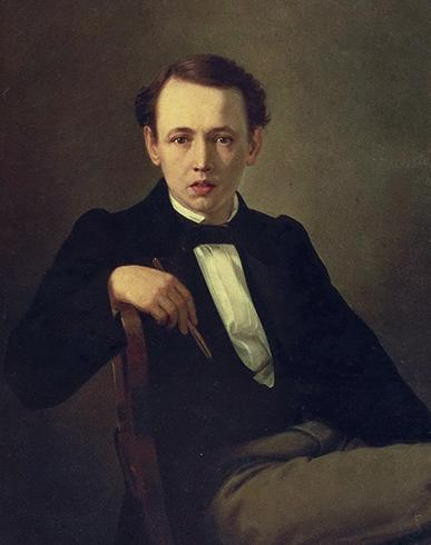 Автопортрет. 1851 г.