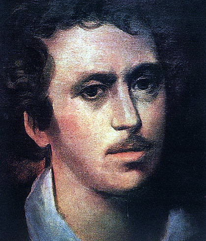 Автопортрет (примерно 1823 г.)