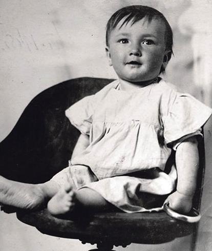 Борис в детстве
