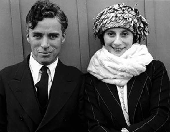 С Чарльзом Чаплином