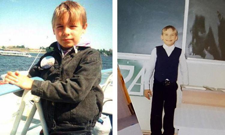 Антон в детстве
