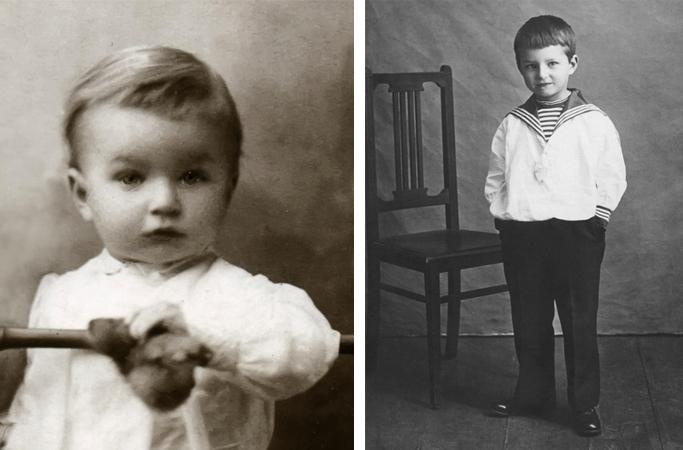 Дмитрий в детстве