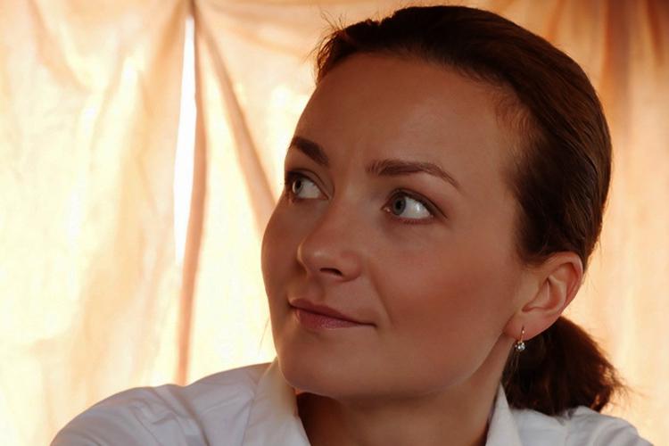Актриса Анна Дюкова