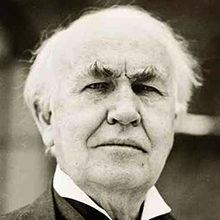 Томас Эдисон — краткая биография