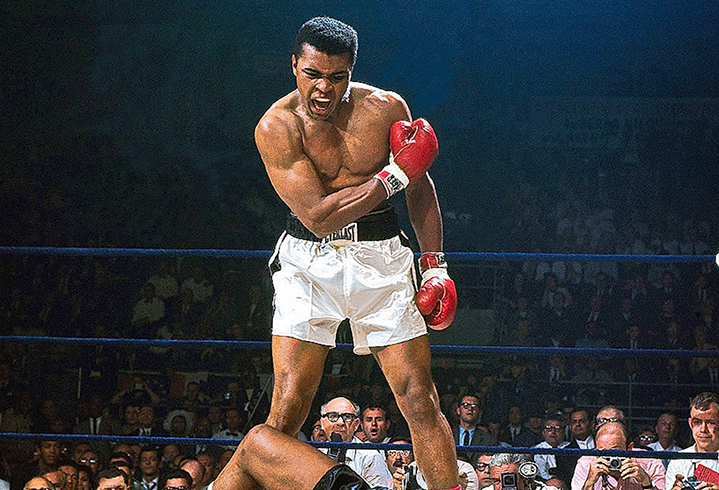 Великий боксер Мухаммед Али