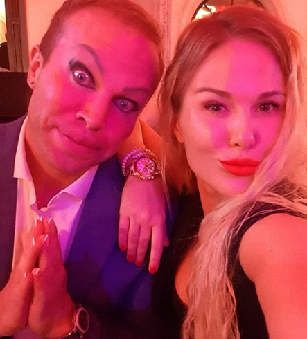 Александр Шпак и его жена