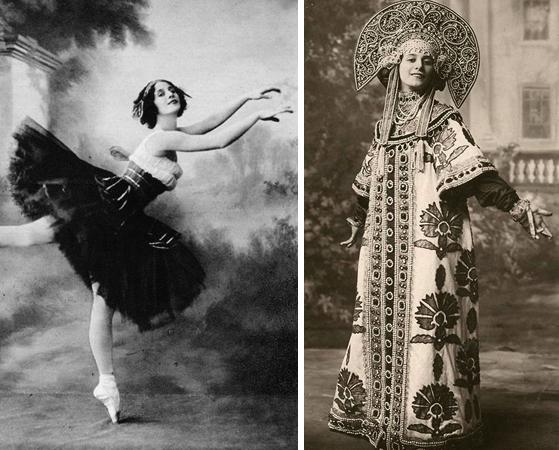 Легендарная балерина Анна Павлова