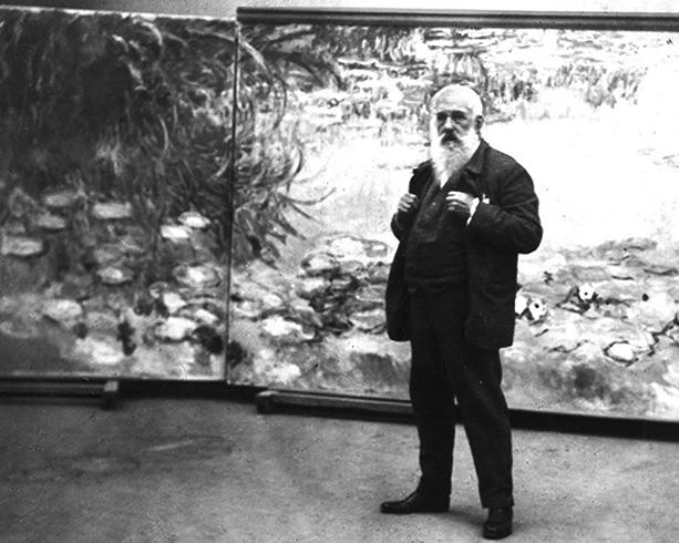 Клод Моне в 1920 году