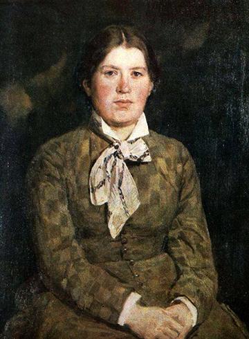 Портрет жены Александры