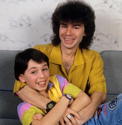 С сыном Родионом