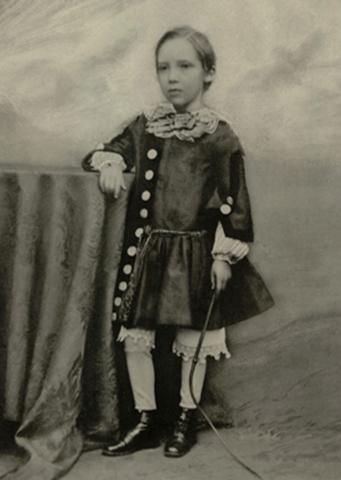 В возрасте 7 лет