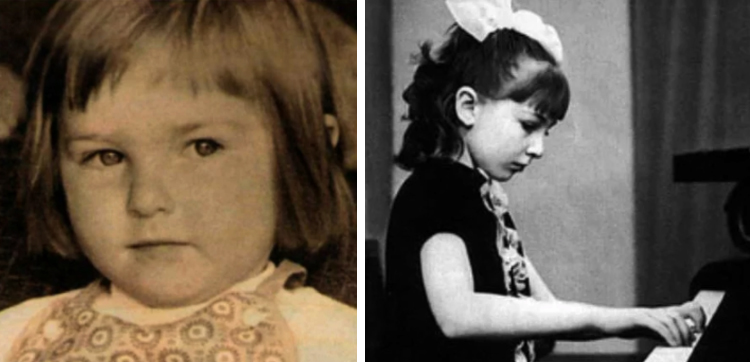 Катя в детстве