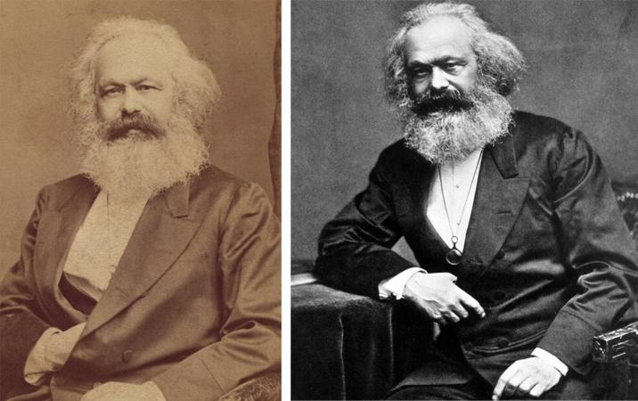 Философ Карл Маркс