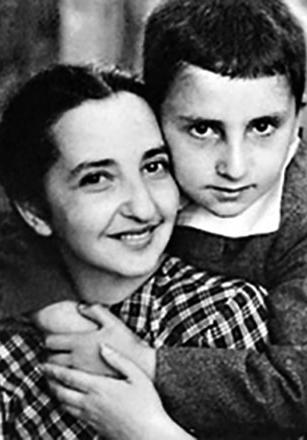 Евгения Ласкина с сыном