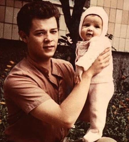 С дочерью Марианной
