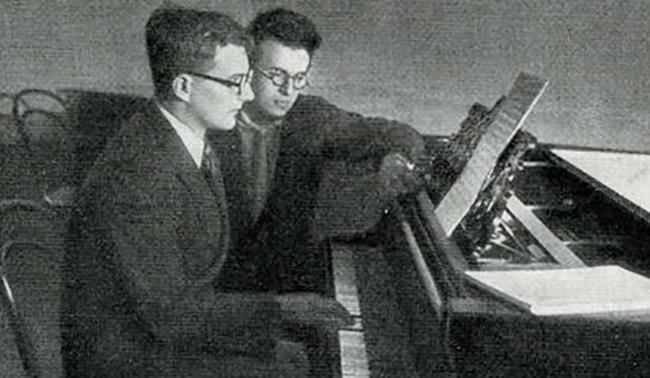 С Шостаковичем