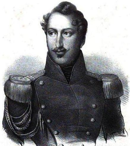 Наполеон III в 1836 году