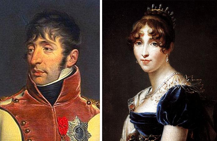 Родители — Людовик Бонапарт и Гортензия де Богарне