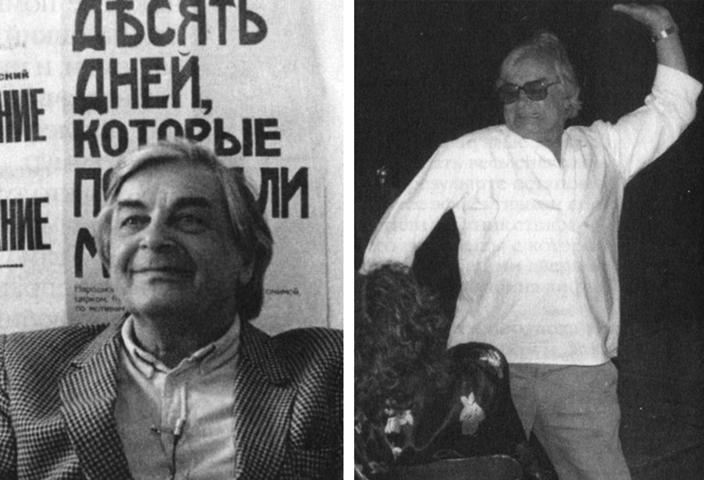 Юрий Любимов после возвращения