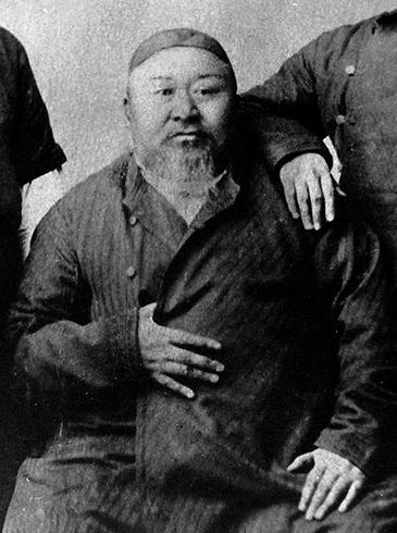 Абай Кунанбаев в старости