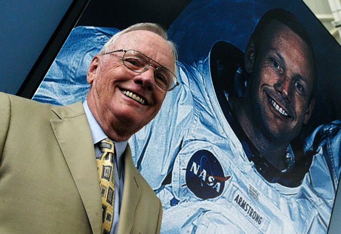 Знаменитый астронавт Нил Армстронг