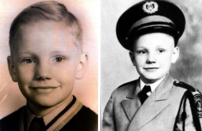 Нил Армстронг в детстве