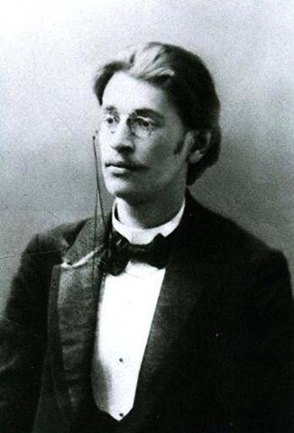 Аркадий Аверченко в 1901 г.