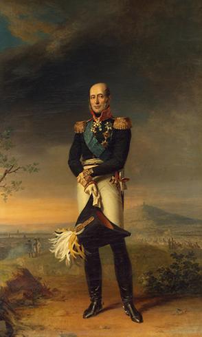 Михаил Барклай-де-Толли. Картина Джорджа Доу (1829)