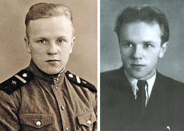 Васили Белов в молодости