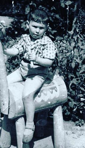 Анатолий Бондаренко в детстве