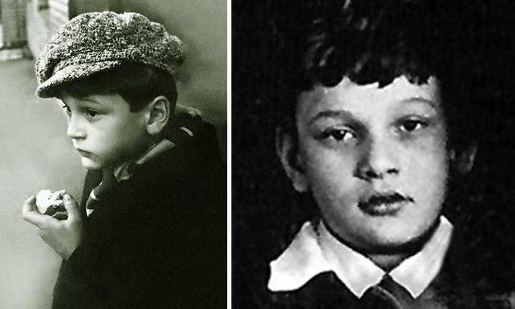 Сергей Гинзбург в детстве