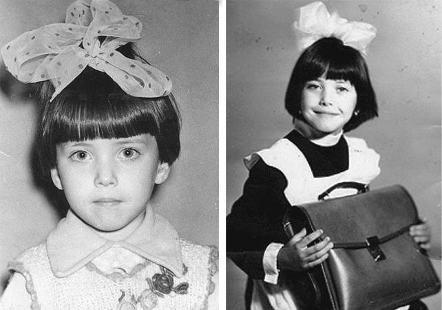 Жанна Фриске в детстве