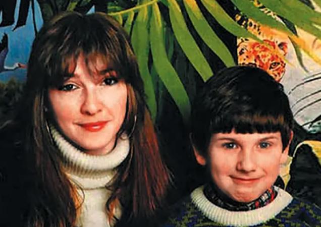 Екатерина с сыном Иваном