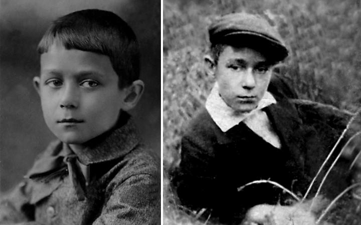 Андрей Дементьев в детстве