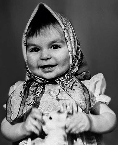 Екатерина Варнава в детстве