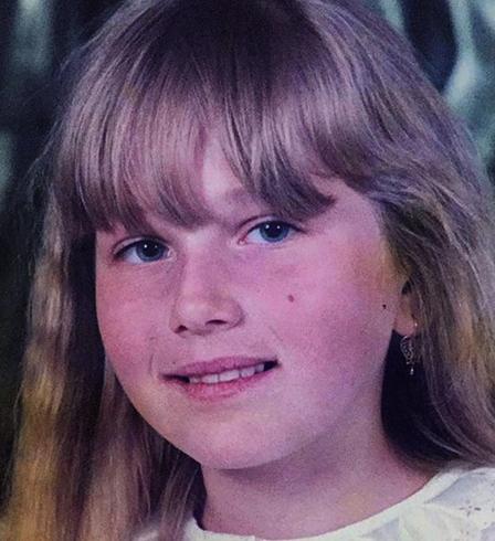 Карина в детстве