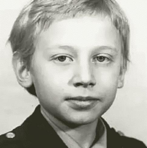 Михаил Трухин в детстве