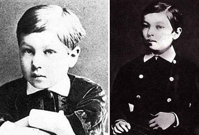 Василий Кандинский в детстве